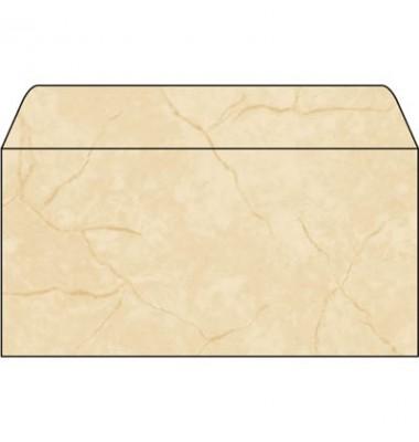 Briefumschlag Granit beige DIN lang