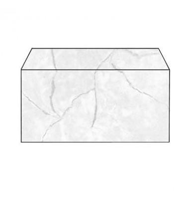 Briefumschlag Granit grau DIN lang