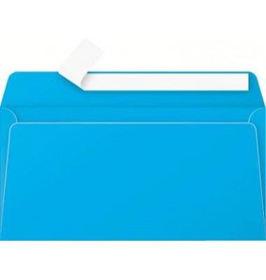 Briefumschlag karibikblau DIN lang