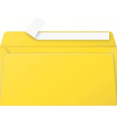 Briefumschlag sonnengelb DIN lang