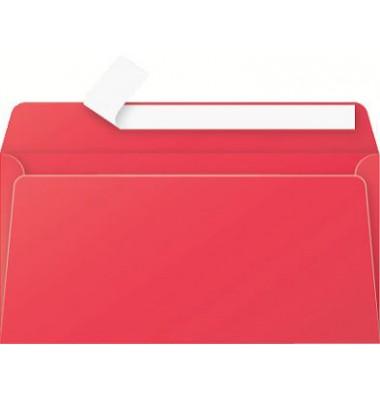 Briefumschlag kirschrot DIN lang