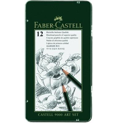 Faber-Castell Bleistift-Set Castell 9000
