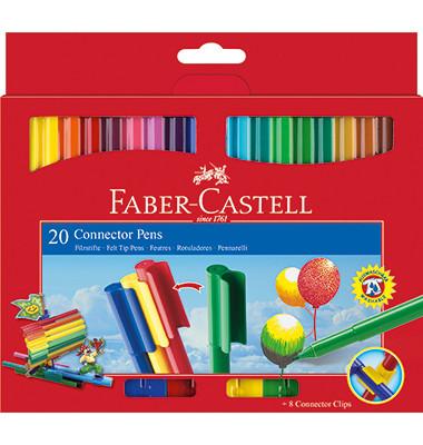 Filzstifte Faber-Castell Connector