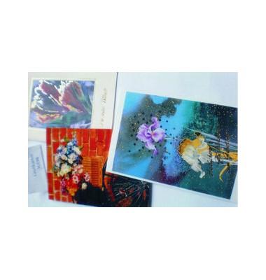 Set Glückwunschkarten mit Briefumschlägen