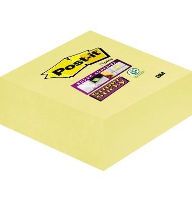 Haftnotizen in normalem Gelb