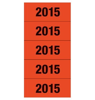 Etiketten mit Aufdruck '2015'