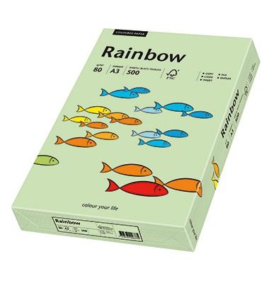 Rainbow Kopierpapier mittelgrün pastell