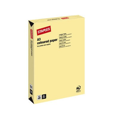HEAD Kopierpapier vanilla pastell