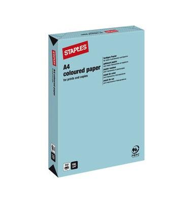 HEAD Kopierpapier mittelblau pastell