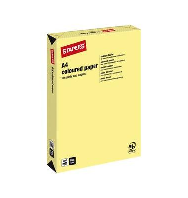 HEAD Kopierpapier gelb pastell