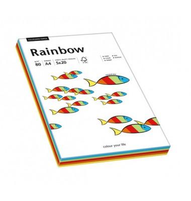 Farbig gemischtes Rainbow Kopierpapier