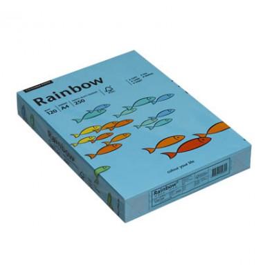Rainbow Kopierpapier COLOURED PAPER blau