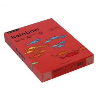 Rainbow Kopierpapier COLOURED PAPER intensivrot