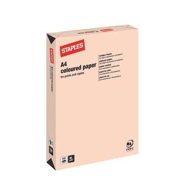 HEAD Kopierpapier lachs pastell