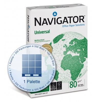 Kopierpapier Navigator Universal auf Palette