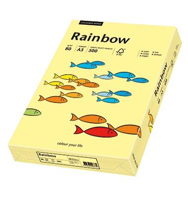 Pastellfarbenes Rainbow Druckerpapier hellgelb