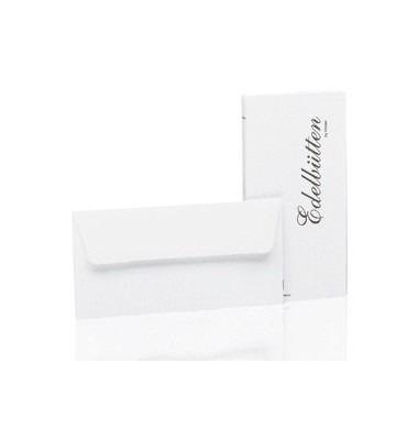 Briefumschlag aus Büttenpapier DIN lang