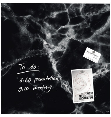 Sigel Magnetboard Black Marble