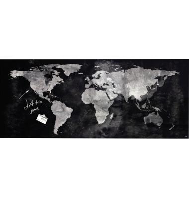 Sigel Magnetboard Weltkarte