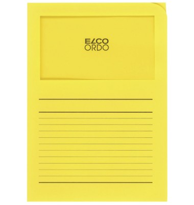 Elco Organisationsmappe Ordo classico intensivgelb