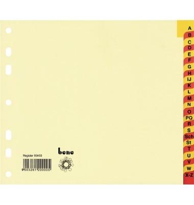 Zweifarbiges Register