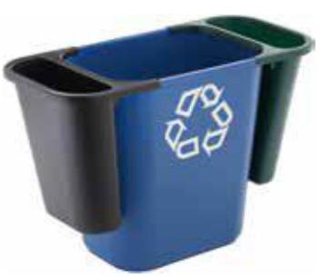 Rubbermaid Abfalleinsatz 4,5 Liter schwarz