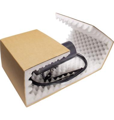 Versandkarton mit Schaumstoff