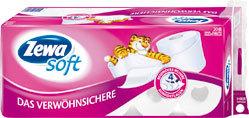 Zewa Toilettenpapier 29799 Das Verwöhnsichere, 20 Rollen