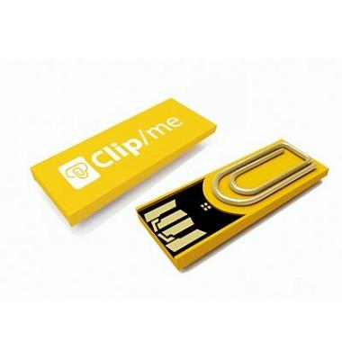 Büroklammer und USB-Stick in Einem