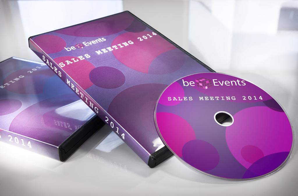DVD-Etikett und -Einlage