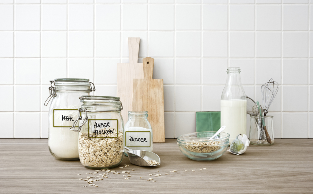 Etiketten für die Küche