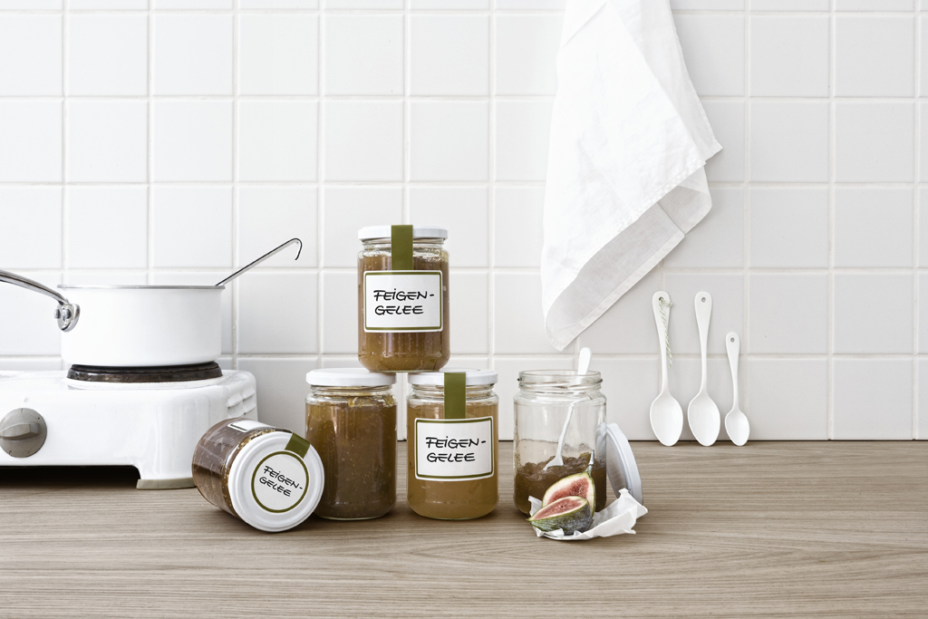 Etiketten für Haushalt & Küche