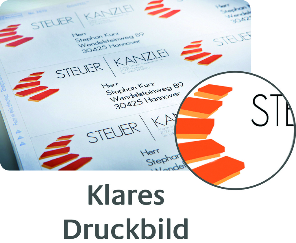 Illustration klares Druckbild