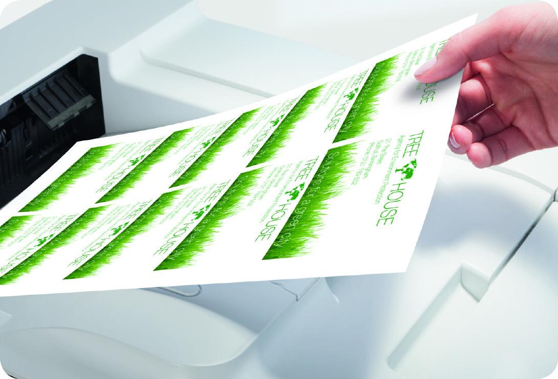 Seriendruck mit einem Etikettenprogramm
