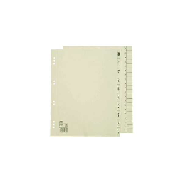 Elba Trennblätter 06453 A4 überbreite chamois 230g 100 Blatt