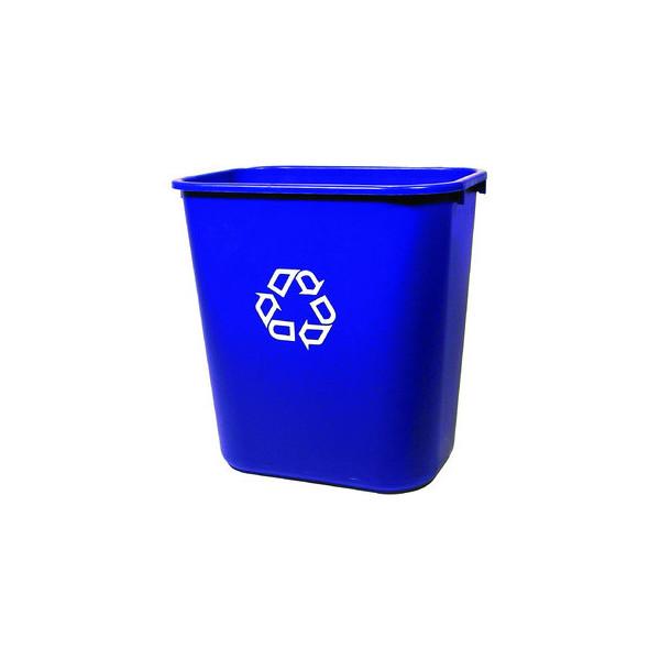 Rubbermaid Abfalleimer 26,6 Liter blau