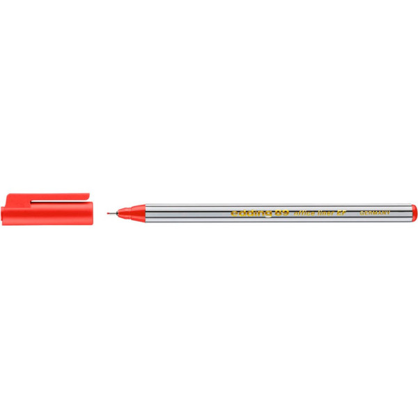 Edding Fineliner 89 office liner EF rot 0,3 mm