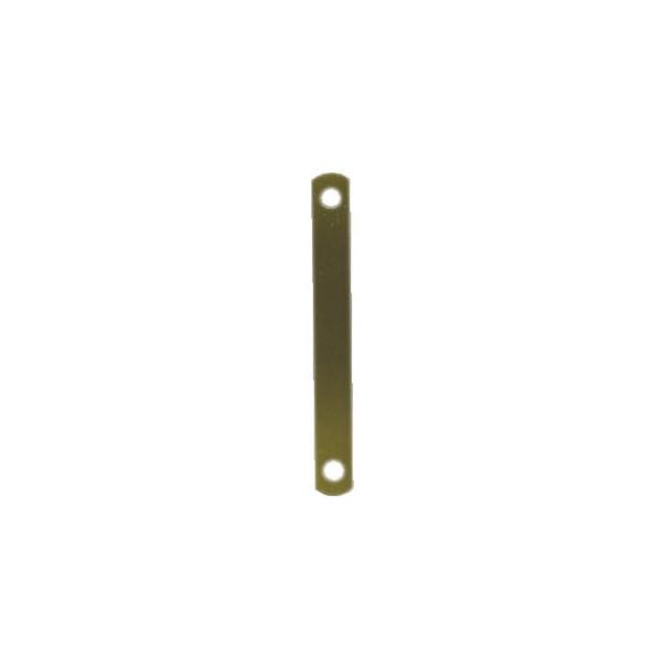 Elba Deckleiste 100420792, 11x95mm, Metall mit Metalldeckleiste, messing, 100 Stück