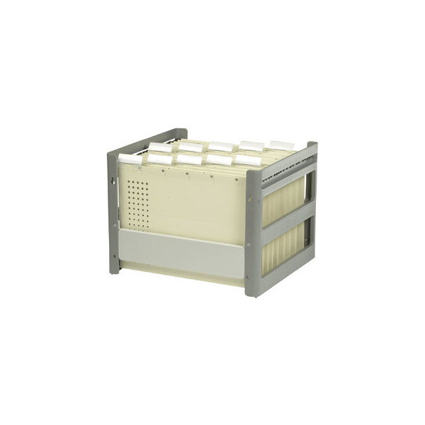 Elba Hängemappenbox Go-Fix 84408 grau bis 30 Mappen leer