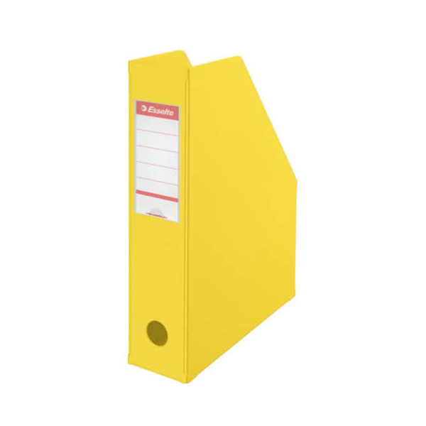 Esselte Stehsammler 56001 70x242x318mm A4 Pappe folienkaschiert gelb