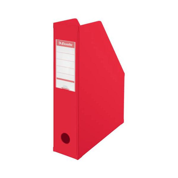 Esselte Stehsammler 56003 70x242x318mm A4 Pappe folienkaschiert rot