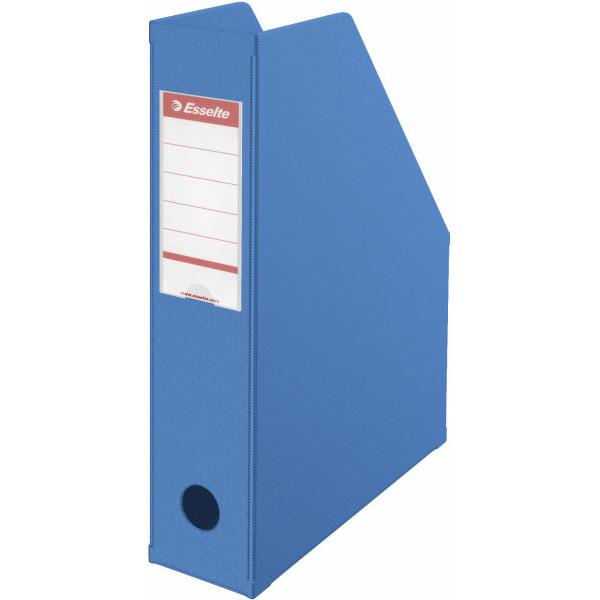 Esselte Stehsammler 56005 70x242x318mm A4 Pappe folienkaschiert blau