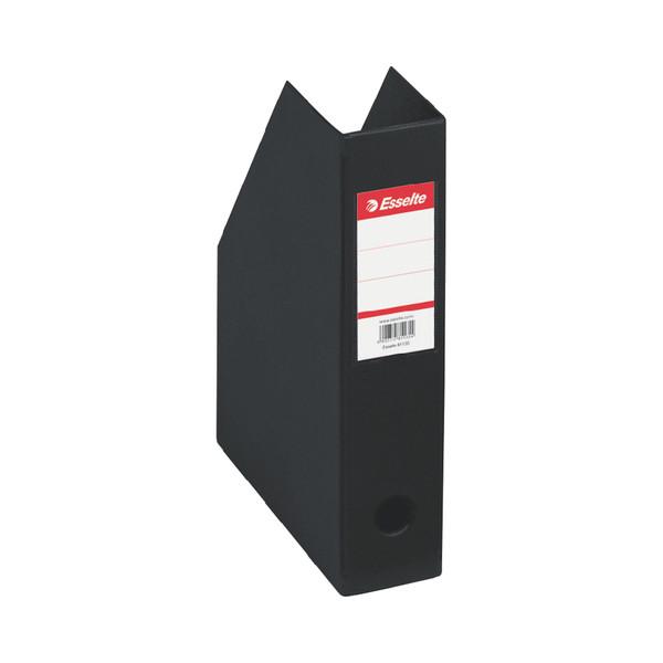 Esselte Stehsammler 56007 70x242x318mm A4 Pappe folienkaschiert schwarz