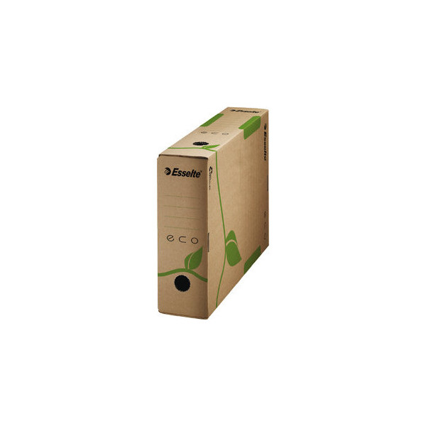 Esselte Archivbox ECO naturbraun 8 x 32,7 x 23,3 cm DIN A4