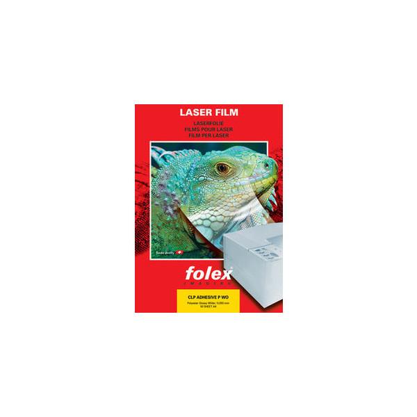 Folex Kopierfolie CLP ADHESIVE P WO 2999W.050.44100, A4, für S/W-Laserdrucker, Farb-Laserdrucker, S/W-Kopierer, Farb-Kopierer, 0,05mm