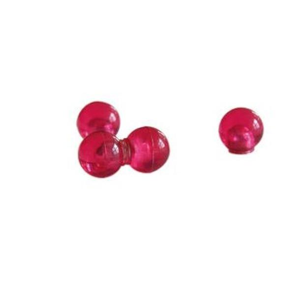Franken Magnetkugel Haftkraft 4kg pink 14mm Durchm. 4 St