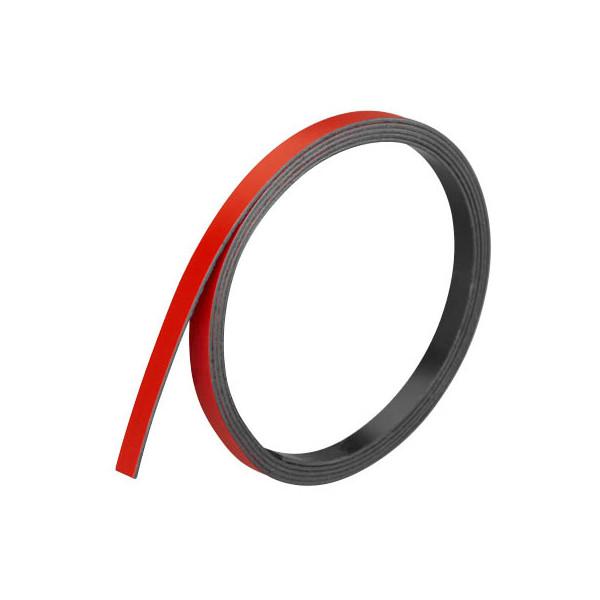 Franken Magnetstreifen 1m x 5mm x 1mm rot