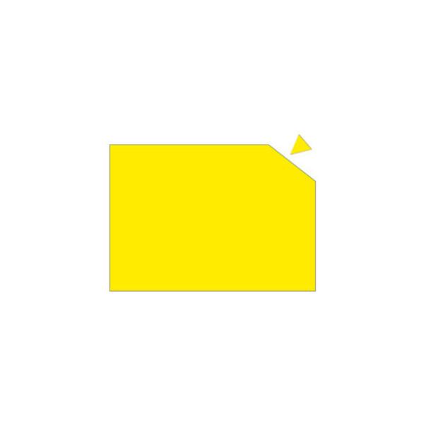 Franken Magnetplatte 200 x 295 x 0,6mm gelb