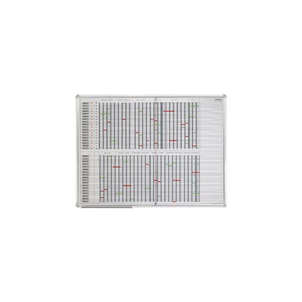 Franken Jahresplaner SJPC bis 35 Positionen 90 x 120cm
