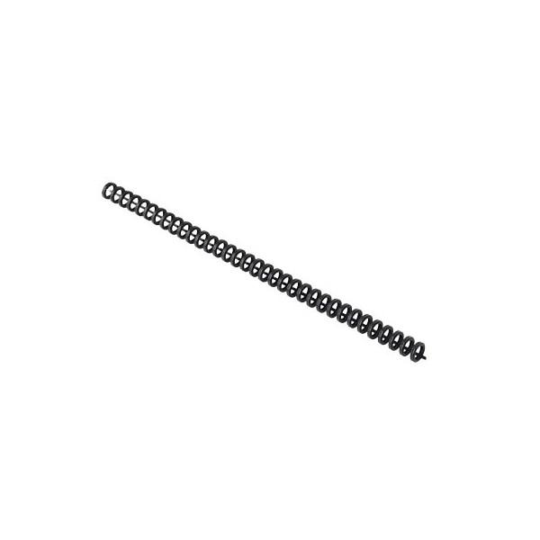 GBC Clickbinderücken ClickBind 388019E schwarz 3:1 34 Ringe auf A4 45 Blatt 8mm 50 Stück